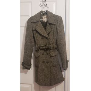 Wool Blend Trench